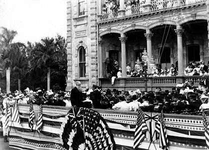 1898 Honolulu Annexation Ceremony